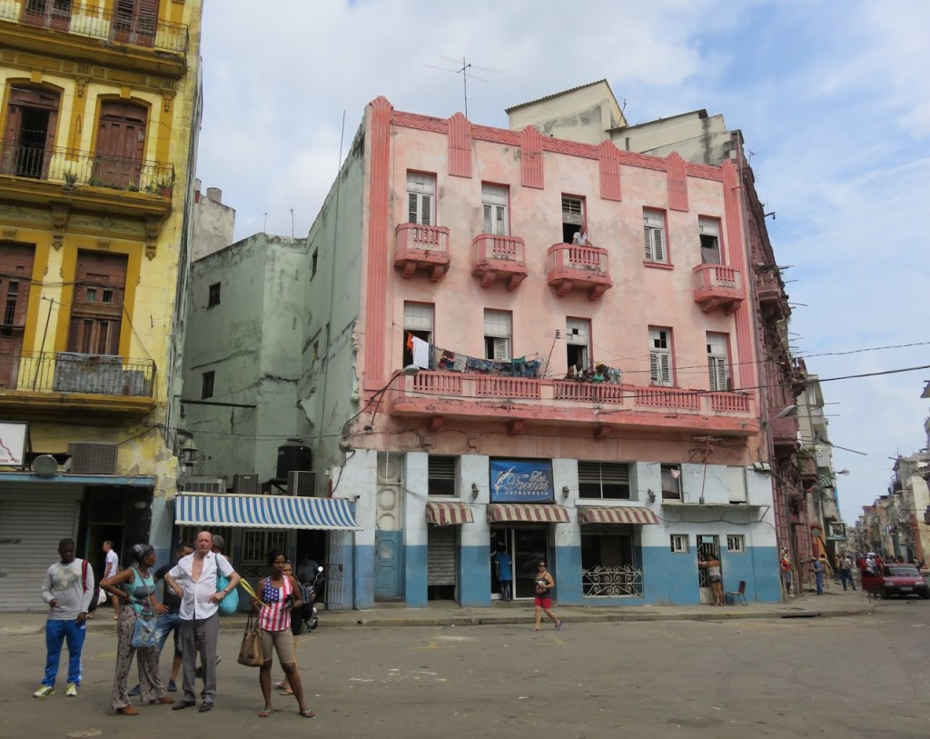 In my CIA father's version of Cuba, there would be no American flags in Havana. I was surprised to find them everywhere.