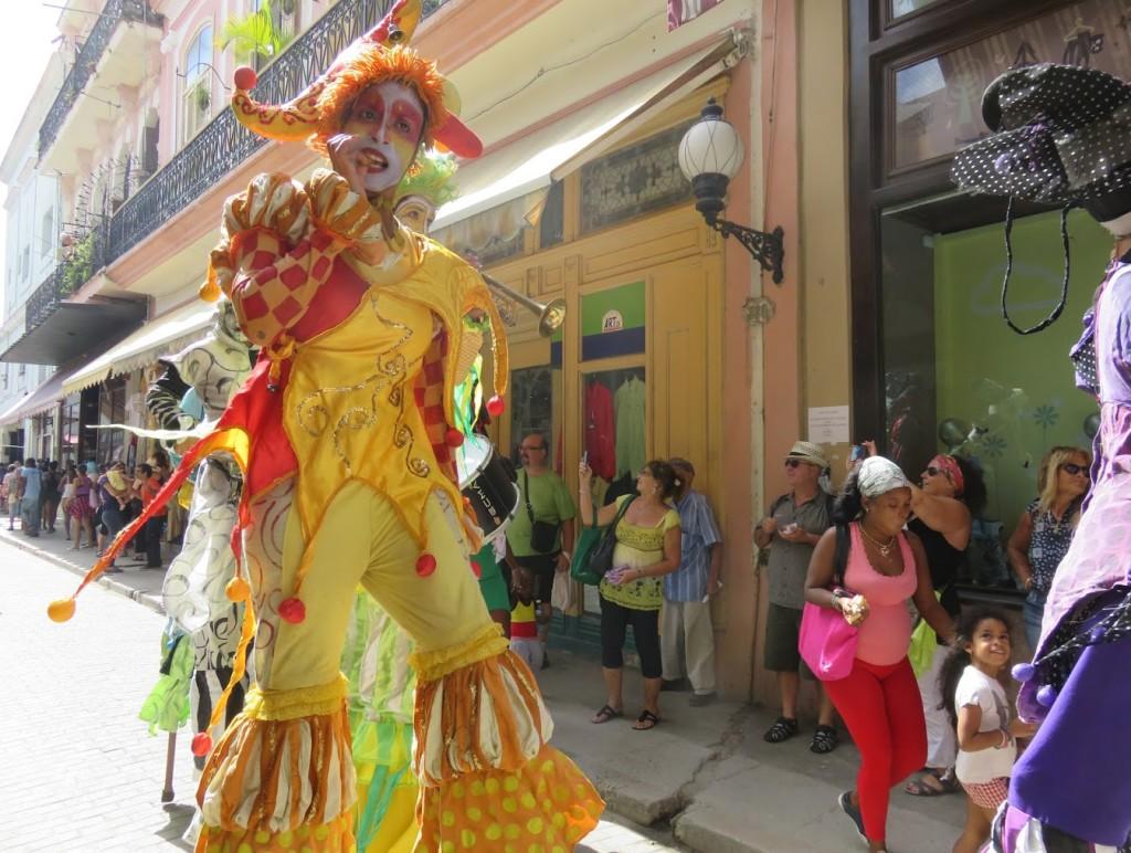 Street carnival on Calle Obispo.