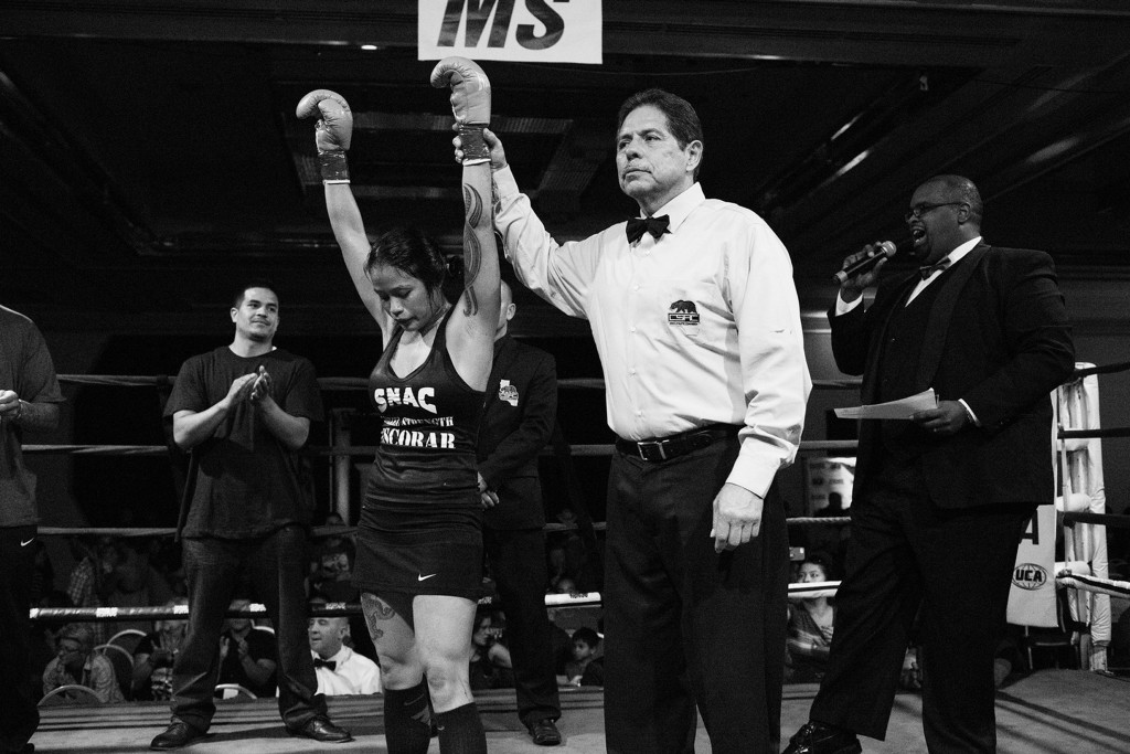 On October 14, 2014, Casey Morton won her pro-debut fight against Blanca Raymundo, accomplishing her dream of becoming a professional female boxer.